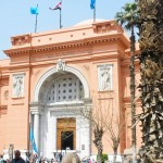 Heading into the Cairo Museum