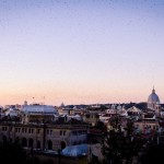 Andrew woke up before sunrise to get some pictures from the top of the Spanish Steps