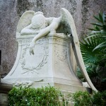 The Angel of Grief in the Non-Catholic cemetery in Rome